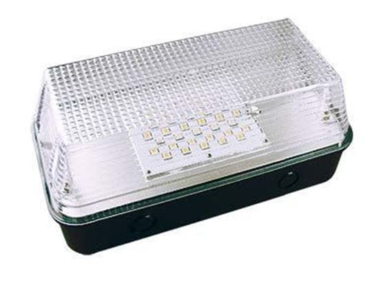 Picture of LED Indoor Outdoor Mini Wallpack 35MH Equiv No Photocell 15W 41K