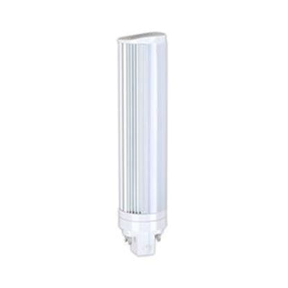 Picture of LED Retrofits CFL Plug-In Retrofit 18W-26W 4-Pin Equiv. 3500K 8W T11 180° FROST 35K 4PIN 120-277V 7YR