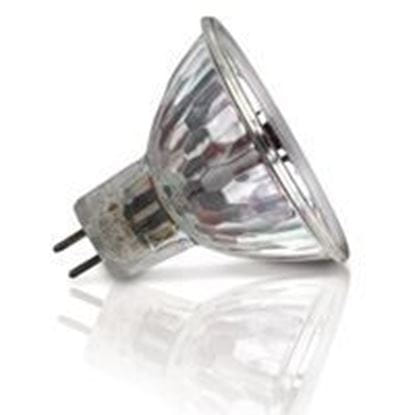 Picture of Light Bulbs Halogens MR16 - 12 Volt Glass Face 20 Flood 36° Q20MR16 XB SS 12ML