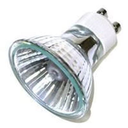 Picture of Light Bulbs Halogens MR16 - 120 Volt Glass Face 50 Flood 50° Q50MR16 WFL SS GU10 12ML