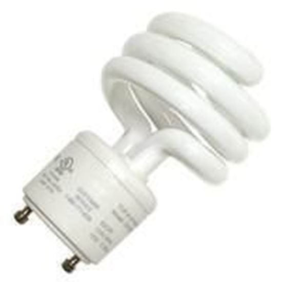 Picture of Light Bulbs Compact Fluorescents Bare Spiral - T2 18 GU24 2700K 18 Watt TWIST HG8527