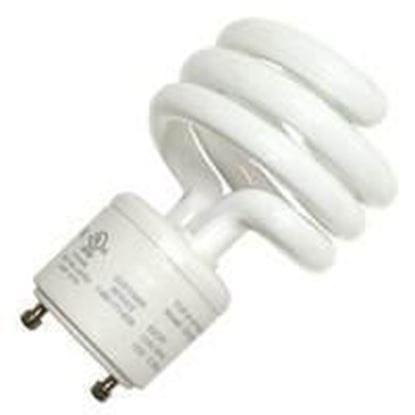 Picture of Light Bulbs Compact Fluorescents Bare Spiral - T2 18 GU24 5000K 18 Watt TWIST XB8550 GU
