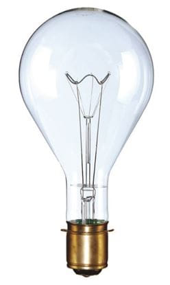 Picture of Light Bulbs Incandescents PS40 620W Clear Mogul Prefocus Code Beacon Lamps 620PS40 MOGPF CB 12ML
