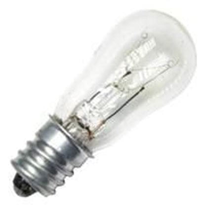 Picture of Light Bulbs Incandescents S6 6W REPLACEMENT Clear medium Indicator Lamps 6S6 CL CAN 15ML