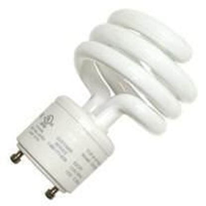 Picture of Light Bulbs Compact Fluorescents Bare Spiral 5 to 26 Watts - T2 GU24 2700K 26W TWIST HG8527
