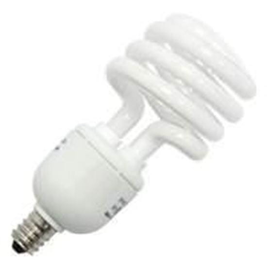 Picture of Light Bulbs Compact Fluorescents Bare Spiral 5 to 26 Watts - T2 Candelabra 5000K 5W MINITWIST AWX8650 CAN 24M