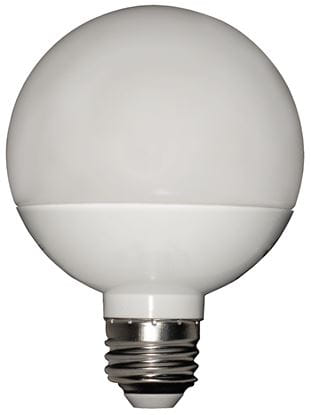 Picture of LED Bulbs Decorative Globe 3 Inch Diameter 5000K 6W G25 XtraBrite AW Dimmable FR 8YR (60W REPLACEMENT)