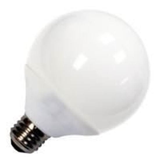Picture of Light Bulbs Compact Fluorescents Globe Spiral G25 14 Watts medium 2700K 14W HG8227 14M
