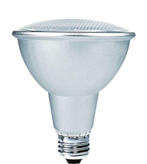 Picture of Light Bulbs Compact Fluorescents PAR Spiral 30 15 Watts Medium 3000K 15W PAR30 SR8235 36M