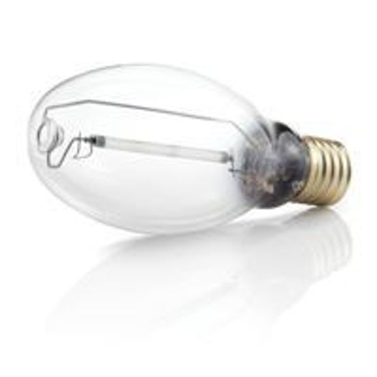 Picture of Light Bulbs High Intensity Discharge Pressure Sodium Single Arc Tube 50W Base: Mogul Clear S68MS 50 MOG 60M