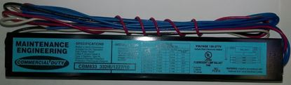 Picture of Fluorescent T8 Ballast 3 or 4 Lamps F32 Instant Start 432IE MV 10 50 15yr