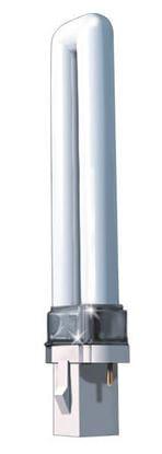 Picture of Light Bulbs Plug-In CFL'S 2-Pin Twin 9 Watts 3500K F9TT4 SR8535