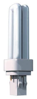 Picture of Light Bulbs Plug-In CFL'S 2-Pin Quad 18 Watts 5000K F18DTT4 AWX8550 36M