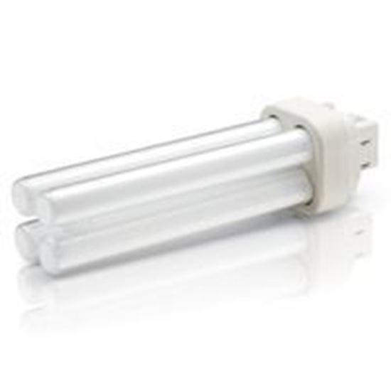Picture of Light Bulbs Plug-In CFL'S 4-Pin Quad 18 Watts 2700K F18DTT4 E HG8527 4P