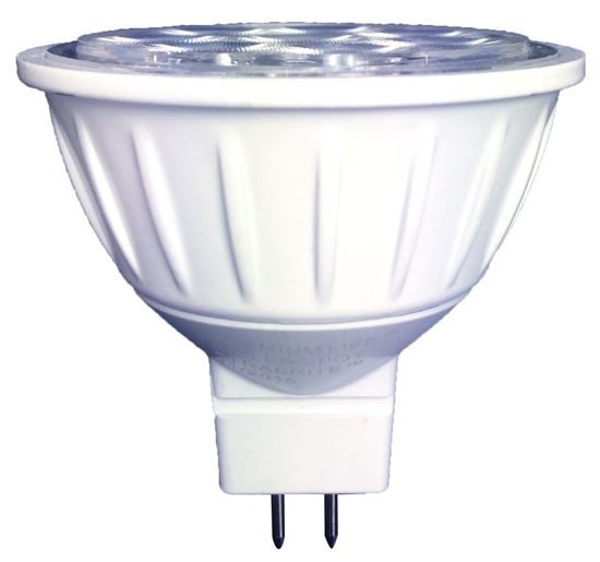 Picture of LED Bulbs MR16 12V 50W Equiv. Flood 3000K 8MR16 Hearthglo FL 12YR (50W Halogen Replacement)