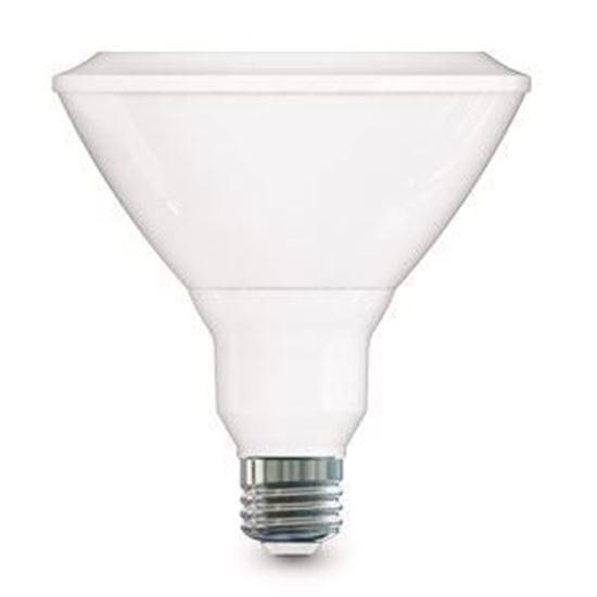Picture of LED Bulbs PAR Outdoor Indoor Reflector PAR38 120V Spot (Narrow Flood) 25° 4000K 19PAR38 40K FL25 Dimmable 3yr