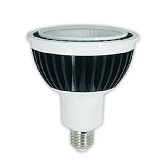 Picture of LED Bulbs PAR Outdoor Indoor Reflector PAR38 277V Flood 40 Degree 4000K 15PAR38 FL 40K 38 120-277V
