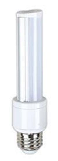 Picture of LED Bulbs Tubular Screw-In 40W Equiv. 5000K 6T10 180° FR 5K 120-277V