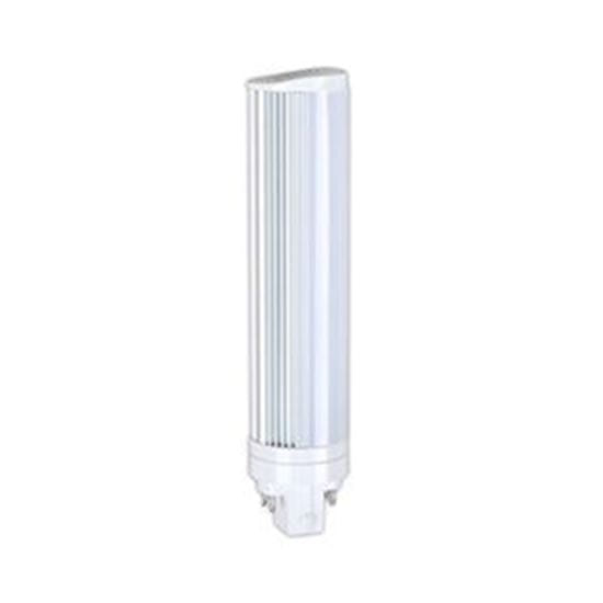 Picture of LED Retrofits CFL Plug-In Retrofit 18W-26W 4-Pin Equiv. 5000k 8W T11 180° FROST 5K 4PIN 120-277V 5YR