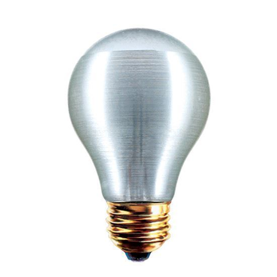 Picture of Light Bulbs Incandescents Decoratives A19 100 Watt Replacement Frost medium 100A21 SRS NYLON 12MW