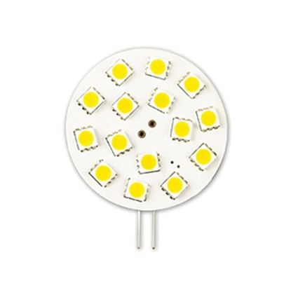 Picture of LED Bulbs Miniatures and Indicators G4 Wafer Lamp JC3W FLAT 35K 12V-G4