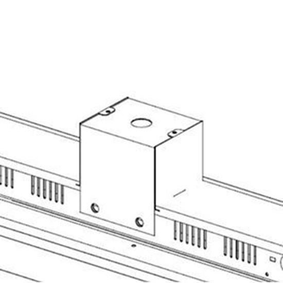 Picture of Pendant Mount Kit for LED Indoor Highbay Flat Fixtures