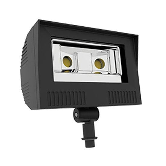 Picture of LED Outdoor Area Floods NPT Swivel Mount 50W 4K FLOOD 100-277V non-dimmable 5yr