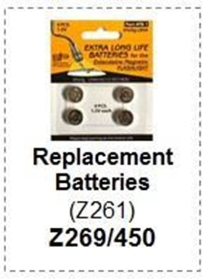 Picture of Replacement Batteries Telescoping Magnetic Flashlight - Z269