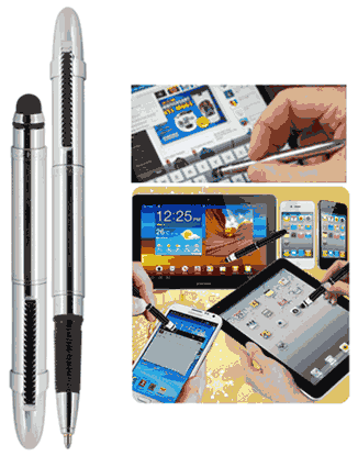 "Picture of ""Smart"" Stylus Bullet Space Pen - Z290"