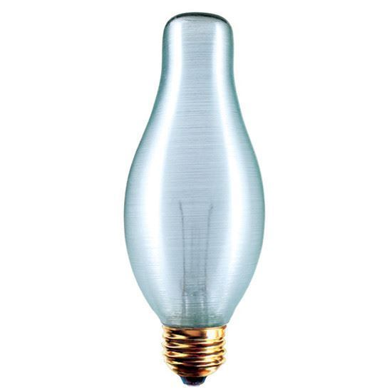 Picture of Light Bulbs Incandescents Decoratives H19 75 Watt Replacement Frost Medium 75H19 DECO 12ML