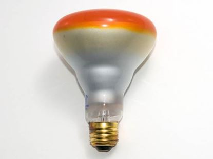 Picture of Light Bulbs Incandescents BR30 65W Amber Medium 65BR30 SP AMB 15ML