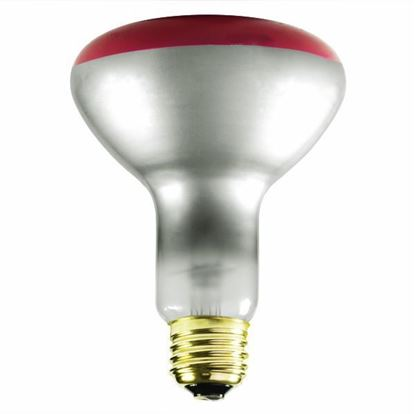 Picture of Light Bulbs Incandescents BR30 65W Red Medium 65BR30 SP 15ML