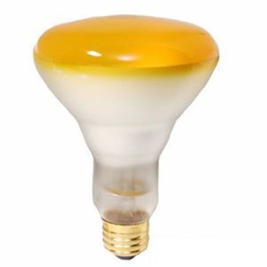 Picture of Light Bulbs Incandescents BR30 65W Yellow Medium 65BR30 SP YEL 15ML