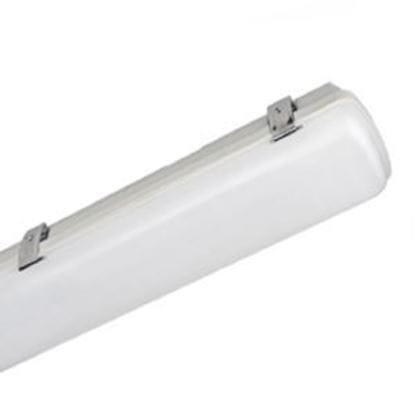 Picture of LED Indoor Outdoor Vapor Tight 4 Foot 5000K 65W W.STAINLESS STEEL CLIPS LT.COMMERCIAL 5YR