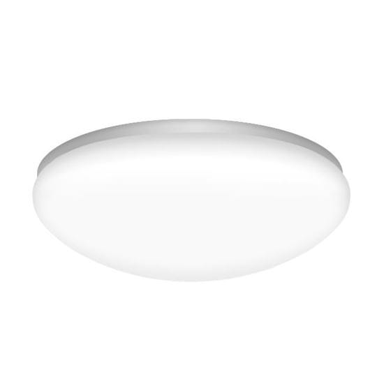 Picture of LED Indoor Mushroom Ceiling Light 75W Incand Equiv 16W 14IN 4000K LT.COMMERCIAL 5YR