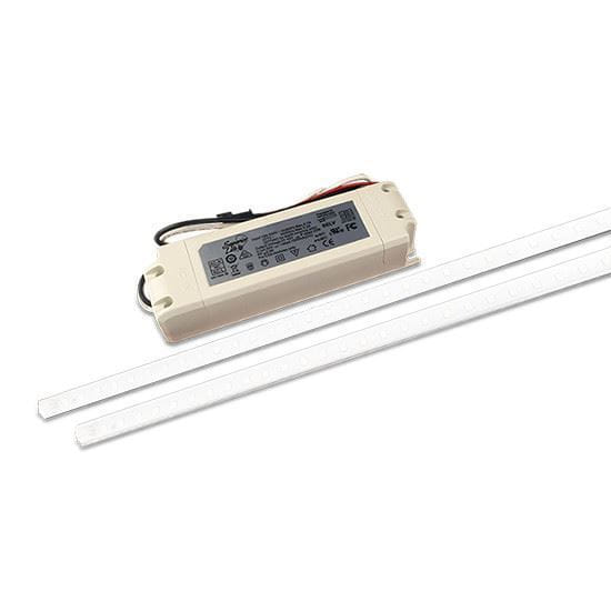 "Picture of 50W Snap-N-Go Magnetic 2X48""/120-277V/2-Lamp/5000K"