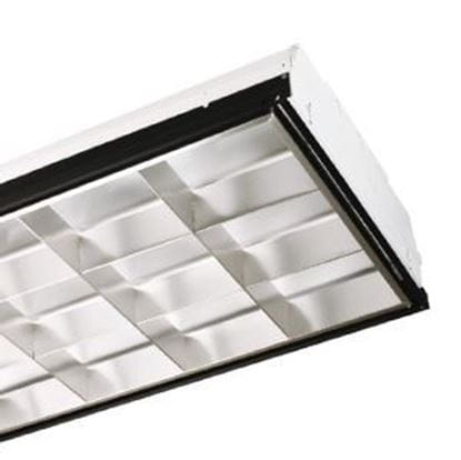 Picture of 2X4 PARACUBE 18-CELL FOR 3 - T8 LED-BYPASS FIXTURE (No ballast, LED-Bypass lamps not included)