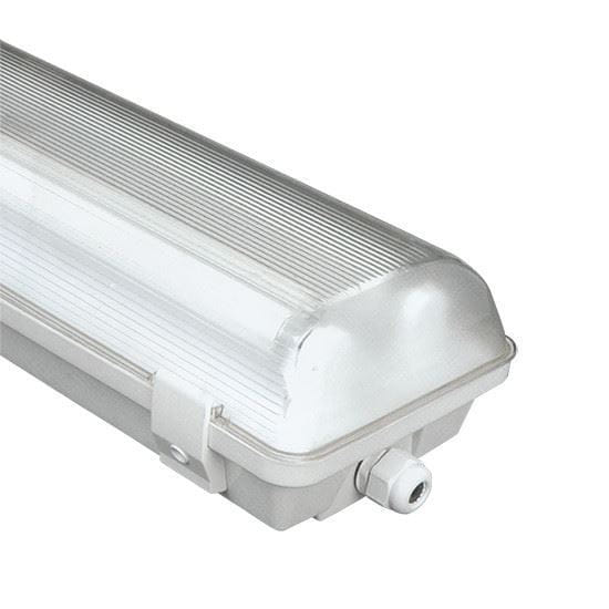 "Picture of 96"" VAPORTIGHT TANDEM FROST FOR 4-T8 BYPASS FIXTURE (No ballast, LED-Bypass lamps not included)"