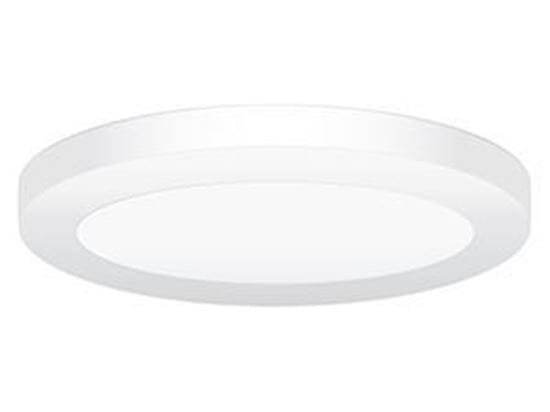 Picture of LED Indoor low-profile Light 2-60W Incand Equiv 20W 9IN ROUND 3000K LT.COMMERCIAL 5YR