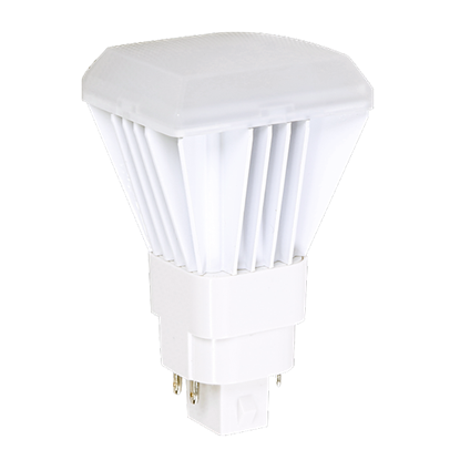 Picture of LED-CFL Direct-Install Replaces 26W 4 Pin with 9W/3000K/G24Q-4P/VERT/DI/7YR