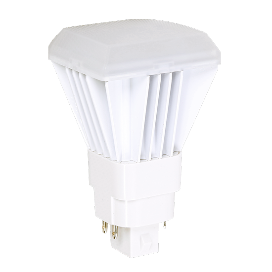 Picture of LED-CFL DIRECT-INSTALL REPLACES 26W 4PIN WITH 9W/3000K/G24Q-4P/VERT/DI/5YR