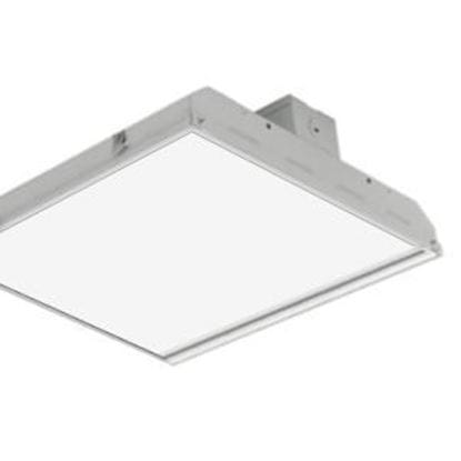 Picture of LED Indoor Highbay Flat 175MH Equiv. Fixture 1' X 2' 90W 5000K Lt. Commercial 5yr