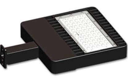 Picture of LED Outdoor Hi-Efficiency SHOEBOX 150MH Equiv 5000K 51W  7YR