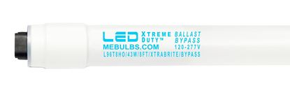 Picture of LED PREMIUM Retrofit Tubes - 8FT T8/HO HIGH BRIGHTNESS Ballast-Bypass 5000K L96T8HO 43W FR 10YR