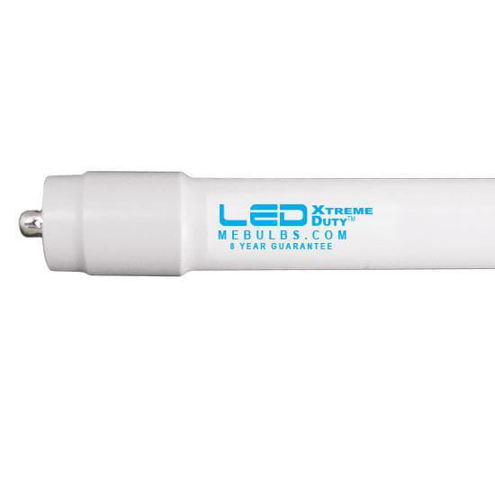Picture of LED Bulbs Tubes - Replace Fluorescent 8FT T8 Single Pin Direct Install -Glass 5000K L96T8IS 24W XB WITE DI 9YR (F96T8-IS REPLACEMENT)
