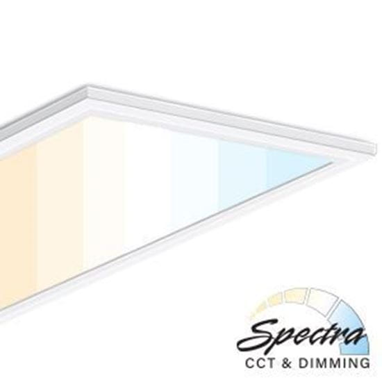 Picture of LED 2X4 SPECTRA PANEL 50W 7YR CCT-Adjustable 3000-5000K (with remote sold separately)
