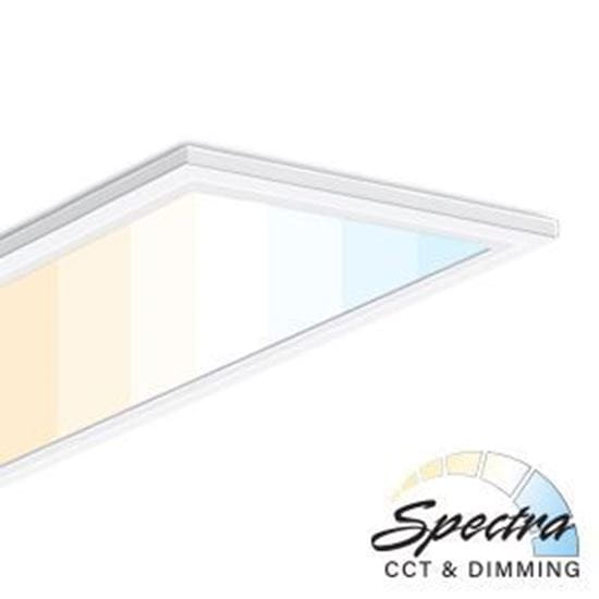 Picture of LED 1X4 SPECTRA PANEL 40W 5YR (CCT-adjustable 3000-5000K with remote sold separately)