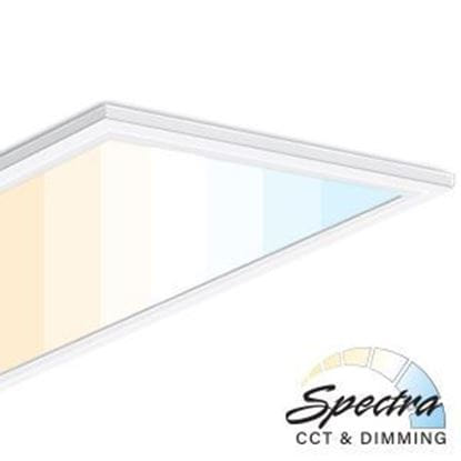 Picture of LED 2X4 SPECTRA PANEL 50W 5YR CCT-Adjustable 3000-5000K (with remote sold separately)