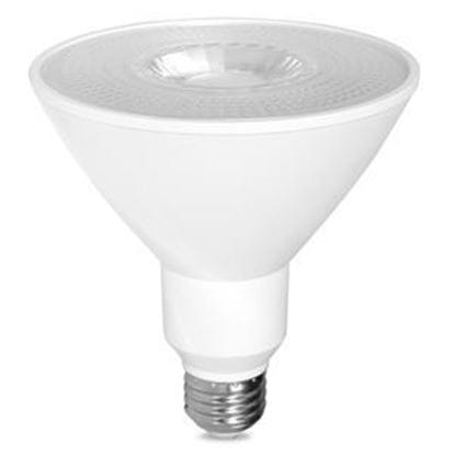 Picture of LED Bulbs PAR Outdoor Indoor Reflector PAR38 120V Spot (Narrow Flood) 25 Degree 2700K 17PAR38 27K FL25 Dimmable 5yr