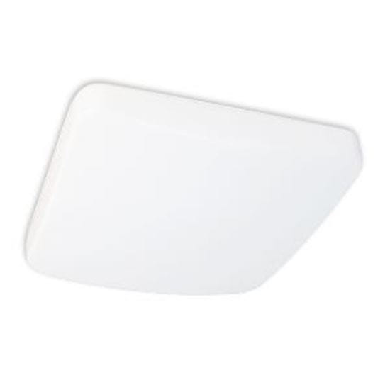 Picture of LED Indoor Square Mushroom Ceiling Light 75W Incand Equiv 17W 14IN 4000K LT.COMMERCIAL 5YR